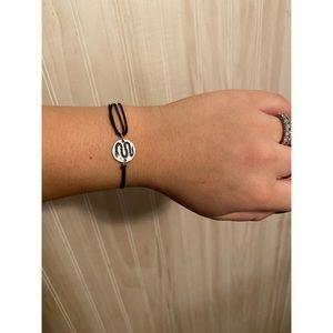 Alex and Ani Slytherin cord bracelet